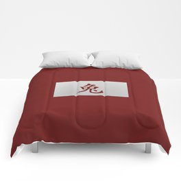 Chinese zodiac sign Rabbit red Comforters