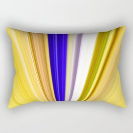 Streams Of Light And Color Rectangular Pillow