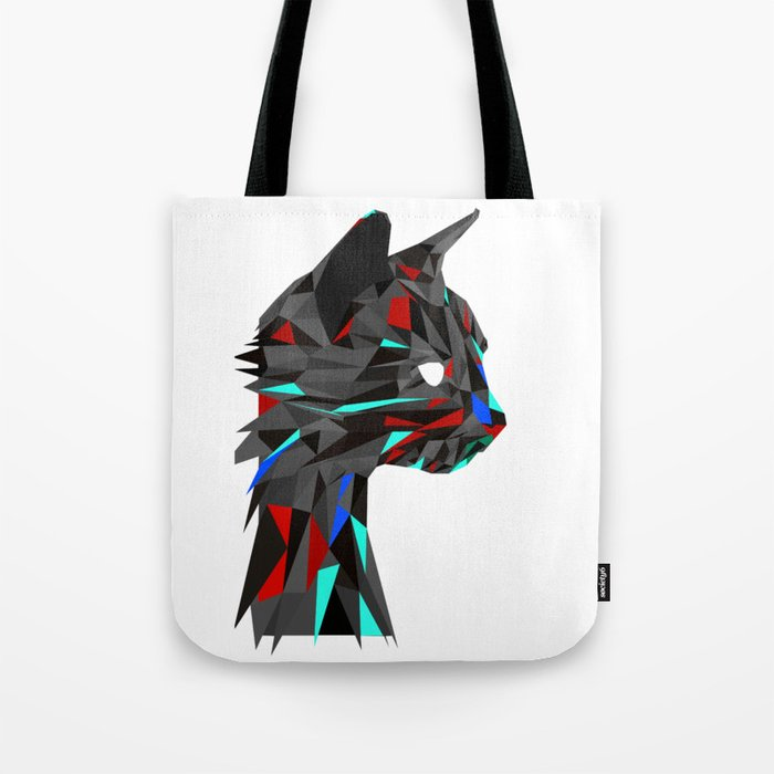 Focused Cat Tote Bag