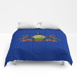 Pennsylvania State Flag Comforters