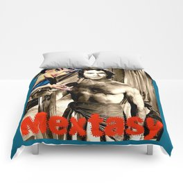 "PLEASE TOUCH THE ""MEXICAN"" {RICARDO MONTALBAN, EDITION} Comforters"