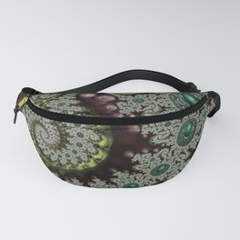 Caterpillar Fractal Fanny Pack