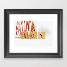 Holiday Joy Framed Art Print