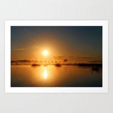 Comes the Sun Art Print