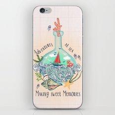 Bottle Ship iPhone & iPod Skin