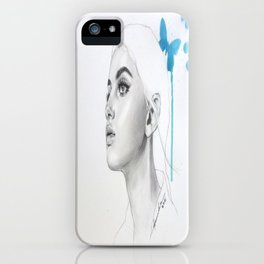 Butterfly3 iPhone Case