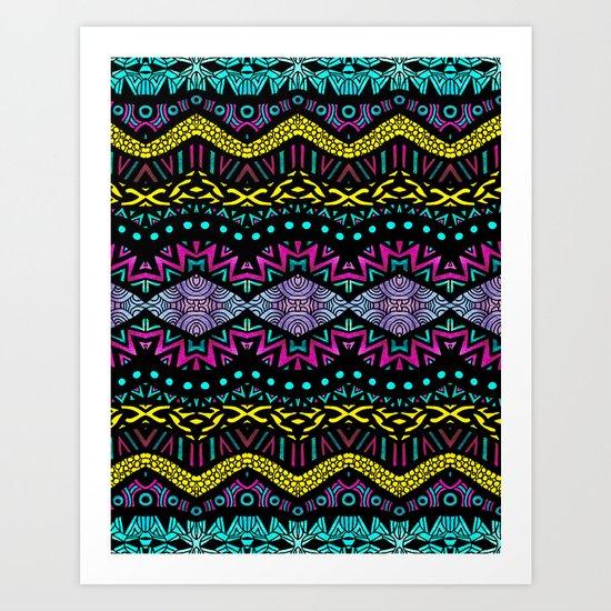 Tribal Dominance Art Print