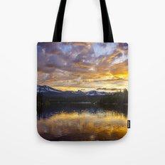 Mile High Sunset Tote Bag