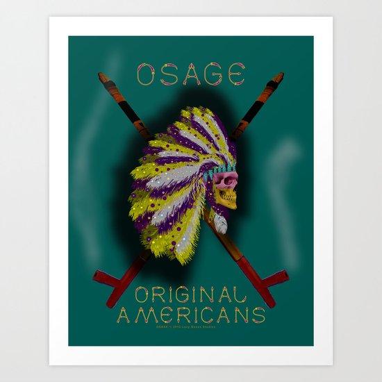 OSAGE - 001 Art Print