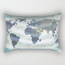 global communication Rectangular Pillow