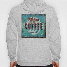 Vintage Style Coffee Sign Hoody