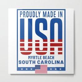 Myrtle Beach South Carolina Metal Print