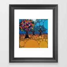 :: Jewel Tree :: Framed Art Print