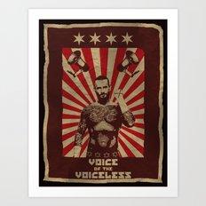 Voice of the Voiceless Art Print