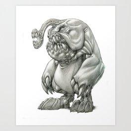 The South American Bimouth Troglodyte Art Print