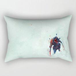 Samurai Spirit II Rectangular Pillow