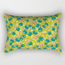 Blueberry Preserves Rectangular Pillow
