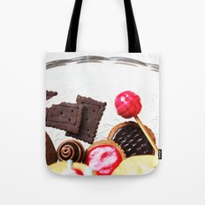 Candies and Cookies Tote Bag
