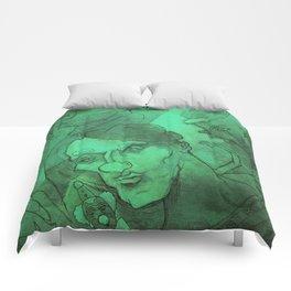 Green Circus Comforters