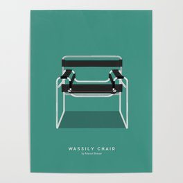 Wassily Chair - Marcel Breuer Poster