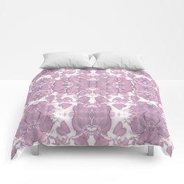 Shibori Rose Crepe De Chine Comforters