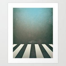 Smooth Minimal - Abbey road Art Print
