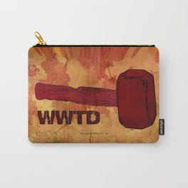 WWTD WHAT WOULD THOR DO – 057 Carry-All Pouch