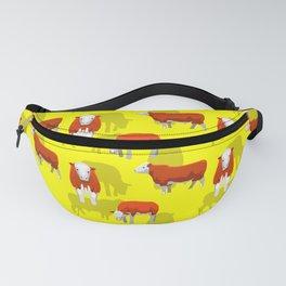 Cow Pattern | Cow Spots Farm Farmer Animal Milk Fanny Pack