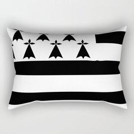 Brittany flag emblem Rectangular Pillow
