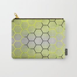 YELLOW HONEY COMB 03 Carry-All Pouch