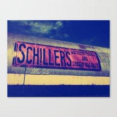 Schiller's Canvas Print