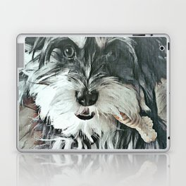 Puppy Rescue Sophie with Bone Laptop & iPad Skin