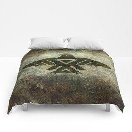 Thunderbird, Emblem of the Anishinaabe people Comforters