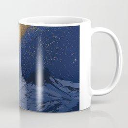 Glowing Tent Under Milky Way Coffee Mug