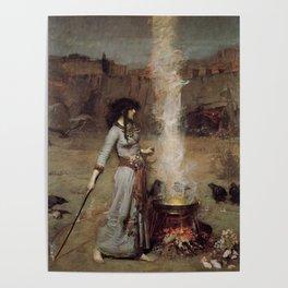 The Magic Circle, John William Waterhouse Poster