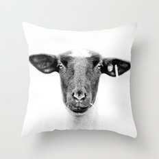 Sheepishly Throw Pillow