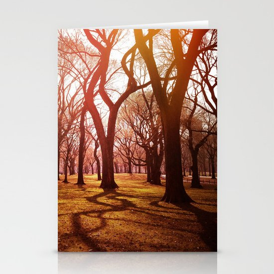 'CENTRAL PARK TANGLE' Stationery Cards