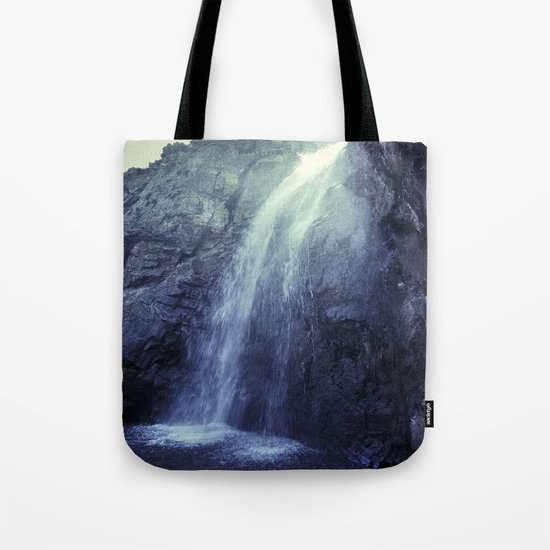 """At the mountains"" Waterfalls... Tote Bag"