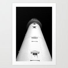 Keep Your Aim High (The Lighthouse) Art Print