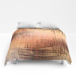 Color mesh Comforters