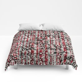 Linear Thinking Trip Switch (P/D3 Glitch Collage Studies) Comforters