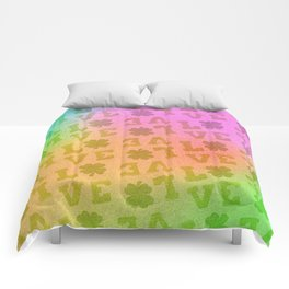St. Patrick's Metallic Pattern Comforters