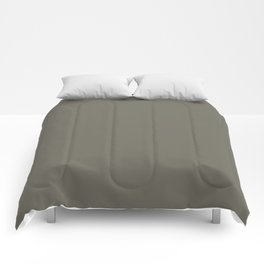 Military Geen  - Solid Color Collection Comforters