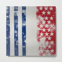 Abd Flag textures and backgrounds Metal Print