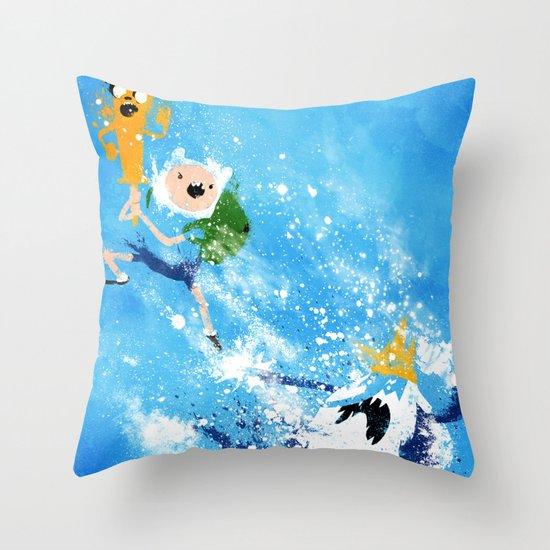 Battle Time!! Throw Pillow