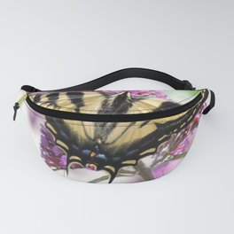 Western Tiger Swallowtail on the Neighbor's Butterfly Bush Fanny Pack