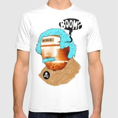 BOOM? Mens Fitted Tee White SMALL