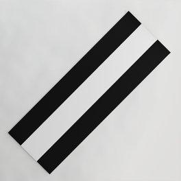 Stripe Black & White Horizontal Yoga Mat
