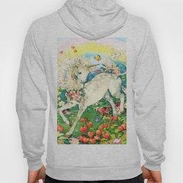 Rainbow Unicorn Garden Hoody