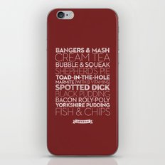 London — Delicious City Prints iPhone & iPod Skin